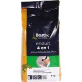 Enduit en poudre 4 en 1 - Rebouche / lisse / égalise et colle - 5 Kg - BOSTIK