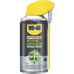 Nettoyant contacts Séchage rapide - 250 ml - WD-40 Spécialist