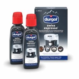 Détartrant pour machine à café - Swiss Espresso - 2 x 125 ml - DURGOL