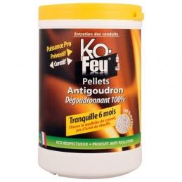 Pellets anti-goudron - Dégoudronnant 100 % - 800 Grs - KO FEU