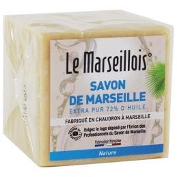 Cube de savon de marseille - Huiles végétales - 300 Grs - LE MARSEILLOIS