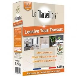 Lessive tous travaux - 1.25kg - LE MARSEILLOIS