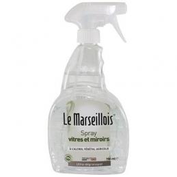 Nettoyant vitres et miroirs - 750 ml - LE MARSEILLOIS