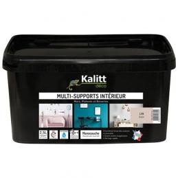 Peinture multi-supports - Intérieur - Satin - Lin - 2.5 L - KALITT