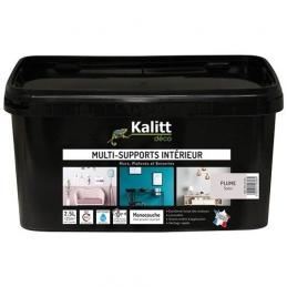 Peinture multi-supports - Intérieur - Satin - Plume - 2.5 L - KALITT