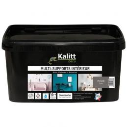 Peinture multi-supports - Intérieur - Satin - Poivre - 2.5 L - KALITT