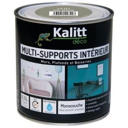 Peinture multi-supports - Intérieur - Mat - Vert de gris - 0.5 L - KALITT