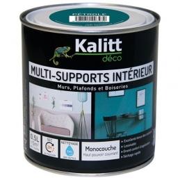 Peinture multi-supports - Intérieur - Mat - Pétrole - 0.5 L - KALITT