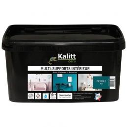 Peinture multi-supports - Intérieur - Mat - Pétrole - 2.5 L - KALITT