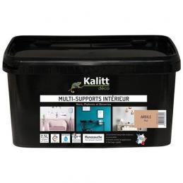 Peinture multi-supports - Intérieur - Mat - Argile - 2.5 L - KALITT