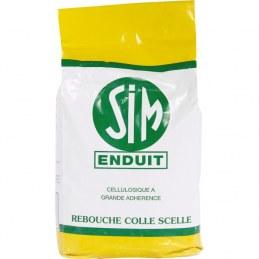 Enduit cellulosique en poudre - 5 Kg - SIM