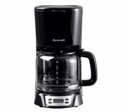Cafetière programmable - 18 tasses - 1000 Watts - CAF1318E - Noir - BRANDT