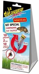 Kit campagnol et rat taupier - Le Détaupeur - 10 pétards - MYRIAD