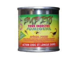 Insecticide fumigène au Pyrèthre - Spécial puces - 20 Grs - SUBITO