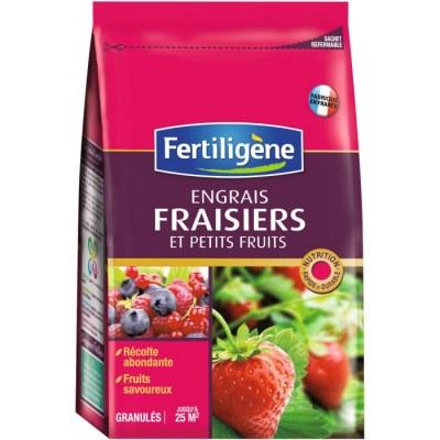 Engrais fraisiers et petits fruits - 800 Grs - FERTILIGENE