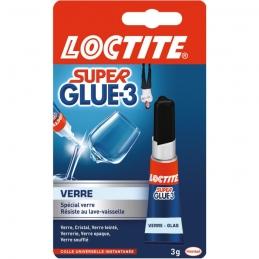 Colle Super Glue-3 - Spécial Verre - 3 g - LOCTITE