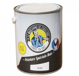 Peinture Spécial Bois - Satinée - Blanc - 2.5 L - ONIP
