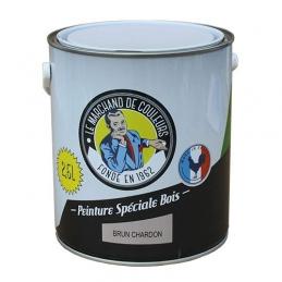 Peinture Spécial Bois - Satinée - Brun charbon - 2.5 L - ONIP