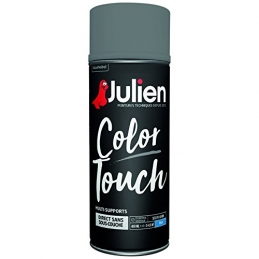 Aérosol de peinture - Color Touch - Gris anthracite - Multi-supports - 400 ml - JULIEN