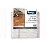 Serpillière gaufrée extra-blanche - STARWAX [Cuisine]