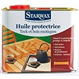 STARWAX HUILE PROTECTRICE BOIS EXTE.TECK 2.5L [Divers]