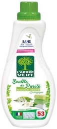 Adoucissant concentré écologique - Souffle de pureté - 800 ml - L'ARBRE VERT