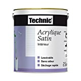 ppg retail europe - peinture acrylique satin 2.5l chocolat