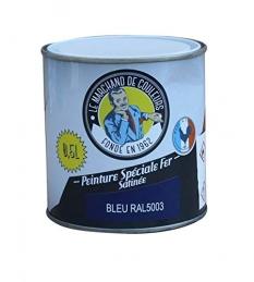 Peinture Spécial Fer - Satinée - Bleu - 0.5 L - ONIP