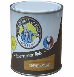 Lasure acrylique pour Bois - Teinte chêne naturel - 0.5 L - ONIP