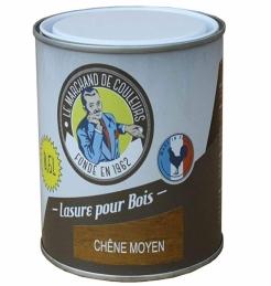 Lasure acrylique pour Bois - Teinte chêne moyen - 0.5 L - ONIP