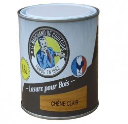 Lasure acrylique pour Bois - Teinte chêne clair - 0.5 L - ONIP