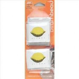 Rince-doigts aux extraits naturels de citron x12 - BIRAMBEAU
