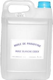 Huile de paraffine alimentaire - 5 L - CODEX