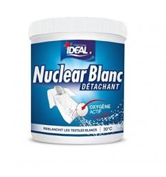 Blanchisseur / détachant - Oxygène actif - Nuclear Blanc - 450 Grs - IDEAL