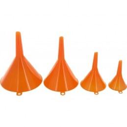 Entonnoirs plastiques - Assortiment de 4 taillles - START