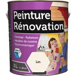 Peinture multi-surfaces - Rénovation - 2 L - Lin - BATIR