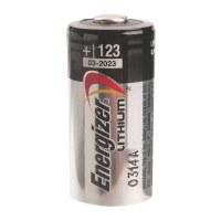 Pile miniature lithium photo - 3 V - CR 123 - ENERGIZER
