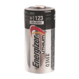 Pile miniature lithium photo - 3 V - CR 123 - ENERGIZER