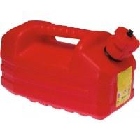 Jerrican rouge 5 L avec bouchon verseur - EDA