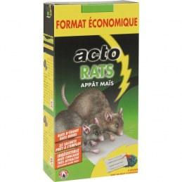Raticide - Appât Maïs - 700 Grs - ACTO