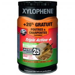Traitement Poutres et charpentes - Préventif et curatif - 6 L - XYLOPHENE