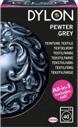 Teinture textile pour machine à laver - Gris charbon - 350 g - DYLON