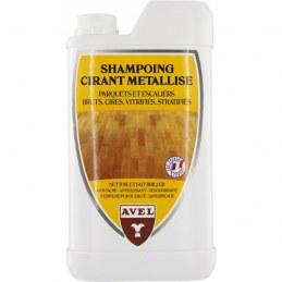 Shampoing cirant métallisé - Parquets et escaliers en bois - 1 L - AVEL