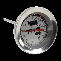 Thermomètre sonde à aiguille pour la viande - 0 à 120 °C - STIL