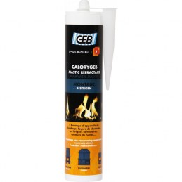 Geb - CALORYGEB mastic refraCaloryGeb - Mastic réfractaire pour cheminée - 310 ml - GEB