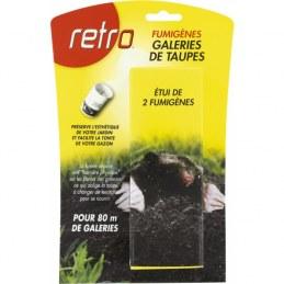 Fumigènes - Galeries de taupes - x 2 - RETRO