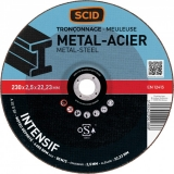 Disque à tronçonner métaux - Usage fréquent - 230 x 2.5 mm - SCID