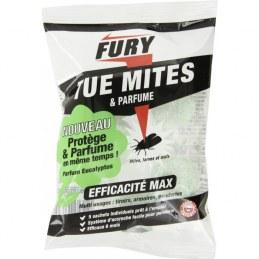 "Pastilles anti-mites parfumées - Parfum Eucalyptus""Tue mites"" - FURY"