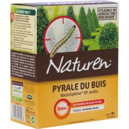 Pyrale du buis - Insecticide naturel - 8 doses - NATUREN
