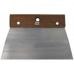Peigne en acier Cambre - 22 cm - Denture pointe fine - OUTIBAT